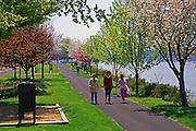 Springtime, Riverfront Park, Harrisburg, Pennsylvania