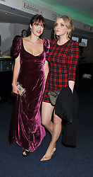 Left to right, JASMINE GUINNESS and SOPHIE DAHL at the GQ Men of the Year 2011 Awards dinner held at The Royal Opera House, Covent Garden, London on 6th September 2011.