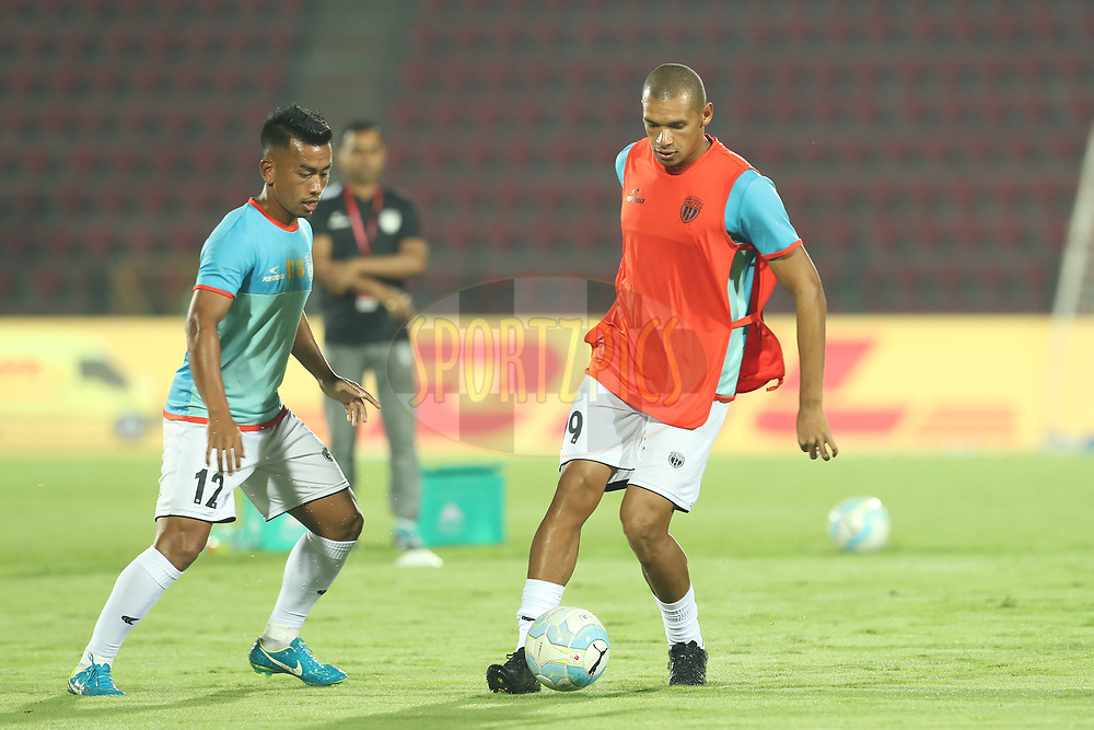 Danilo LOPES CEZARIO of Northeast United FC during match 19 of the Hero Indian Super League between NorthEast United FC and Bengaluru FC held at the Indira Gandhi Athletic Stadium, Guwahati India on the 8th December 2017<br /> <br /> Photo by: Ron Gaunt / ISL / SPORTZPICS