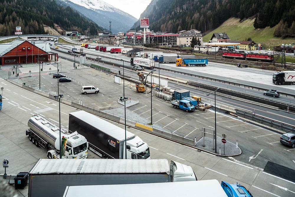 04 MAY 2016 - Brennero (BZ) - Area di confine.