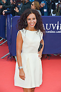 Aida Touihri attends the 41st Deauville American Film Festival Opening Ceremony on September 4, 2015 in Deauville, France.