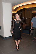 TALLULAH HARLECH, Launch of Equinox, 99 Kensington High st. Former Rainbow Room, London, . 23 October 2012.