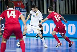 Mladen Kocic of Serbia during futsal match between Serbia and Italy at Day 3 of UEFA Futsal EURO 2018, on February 1, 2018 in Arena Stozice, Ljubljana, Slovenia. Photo by Urban Urbanc / Sportida