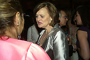 ZAHAR HADID AND CHERIE BLAIR, Women for Women International UK Gala Evening. V. & A. 29 April 2008.  *** Local Caption *** -DO NOT ARCHIVE-© Copyright Photograph by Dafydd Jones. 248 Clapham Rd. London SW9 0PZ. Tel 0207 820 0771. www.dafjones.com.