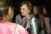ZAHAR HADID AND CHERIE BLAIR, Women for Women International UK Gala Evening. V. & A. 29 April 2008.  *** Local Caption *** -DO NOT ARCHIVE-© Copyright Photograph by Dafydd Jones. 248 Clapham Rd. London SW9 0PZ. Tel 0207 820 0771. www.dafjones.com.