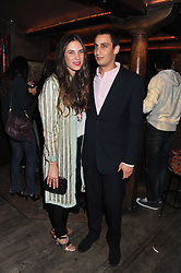TATIANA SANTO DOMINGO and ALEX DELLAL at a party to celebrate the opening of the Muzungu Sisters Pop Up Store at Momo - an ethically sourced fashion brand  held at Momo, 25 Heddon Street, London on 27th October 2011.