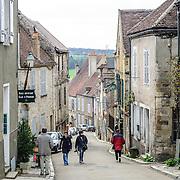Street in Vezelay France