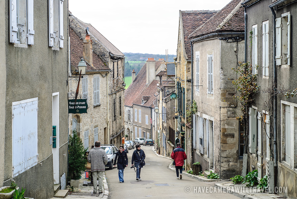 Street in Vezelay France