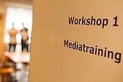 Bild von der Workshopraum für Mediatraining
