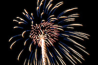 Fireworks display Gilford Old Home Day 2008