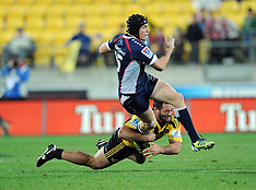 Wellington-Rugby, Super 15, Hurricanes v Rebels