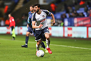Bolton Wanderers midfielder Jason Lowe in action during the EFL Sky Bet League 1 match between Bolton Wanderers and Wycombe Wanderers at the University of  Bolton Stadium, Bolton, England on 15 February 2020.