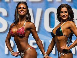 17.11.2013, VAZ, St. Poelten, AUT, IFBB, Classic Bodybuilding Weltmeisterschaft, im Bild Natassia Jaffa (RSA), Frida Sjostrom (SWE) // during the IFBB Classicbodybuilding Championship, Austria 2013/11/17. EXPA Pictures © 2013, PhotoCredit: EXPA/ Sascha Trimmel