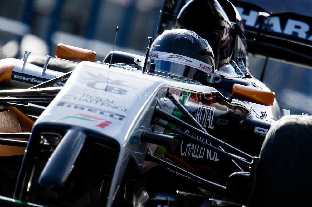 Circuito de Jerez, Spain : Formula One Pre-season Testing 2014. Sergio Perez (MEX), Force India-Mercedes