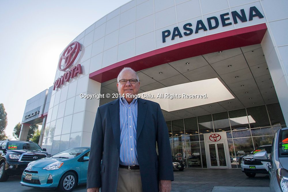 John Symes, president of Symes Automotive Group, which operates three car dealerships in Pasadena, including Pasadena Toyota.<br /> (Photo by Ringo Chiu/PHOTOFORMULA.com)