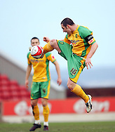 London - Saturday, January 12th, 2008: Mark Fotheringham of Norwich City during the Coca Cola Champrionship match at Oakwell, Barnsley. (Pic by Paul Hollands/Focus Images)