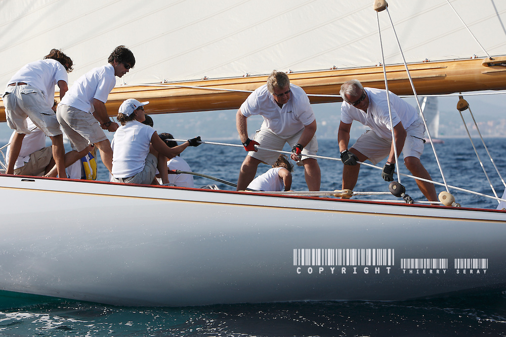 MARISKA IN SAINT-TROPEZ. A NEW LIFE. MARISKA AT THE VOILE DE SAINT-TROPEZ 2009.