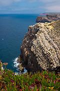 Cliffs at Cabo de São Vicente, Algarve, Portugal