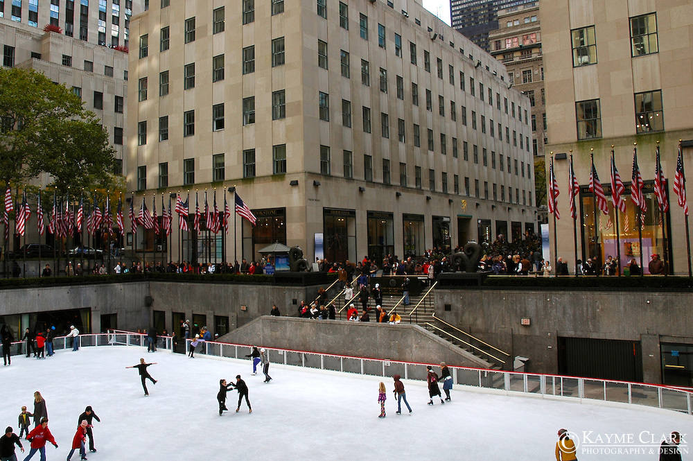 John D. Rockefeller Plaza - New York City, Manhattan, New York, United States of America