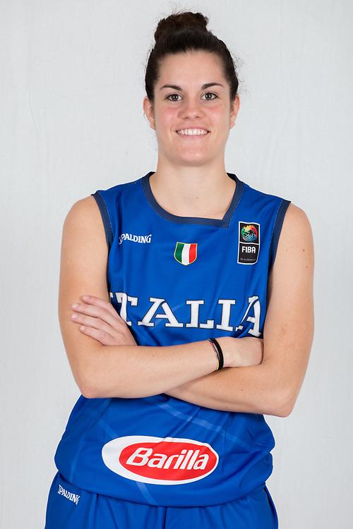 Cabrini Alessia<br /> Nazionale Femminile Open 3x3<br /> Roma 01/06/2018<br /> Foto Ciamillo - Castoria