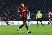 Dominic Solanke (9) of AFC Bournemouth during the Premier League match between Bournemouth and Brighton and Hove Albion at the Vitality Stadium, Bournemouth, England on 21 January 2020.