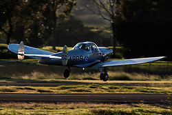 ERCO 415-E Ercoupe (N94809) takes off from Palo Alto Airport (KPAO), Palo Alto, California, United States of America