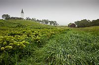 The Catherdral at Hólar in Hjaltadalur valley, Skagafjörður, North Iceland. Hóladómkirkja á Hólum í Hjaltadal, en þar er bær, kirkjustaður og skólasetur í Hjaltadal í Skagafjarðarsýslu.