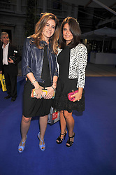 Left to right, FRANCESCA VERSACE and DANIELLA HELAYAL at the Royal Academy of Arts Summer Party held at Burlington House, Piccadilly, London on 3rd June 2009.