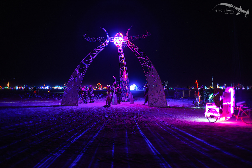 Nexicon Portal, one of my favorite art installations. Burning Man 2014.