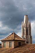 Basilica Parroquial de Sant Feliu, Girona, Catalonia, Spain