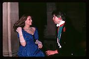 Marina Killery and Guy Faber, Piers Gaveston Ball. Oxford Town Hall. 1981 approx© Copyright Photograph by Dafydd Jones 66 Stockwell Park Rd. London SW9 0DA Tel 020 7733 0108 www.dafjones.com