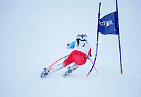 Giant Slalom race at Proctor Academy/Blackwater Ski Area.  ©2016 Karen Bobotas Photographer