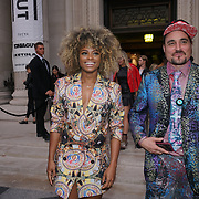 London, England, UK. 17th September 2017.Fleur East is an English singer-songwriter attends FASHION SCOUT SS18 Day 3 at Freemasons Hall.