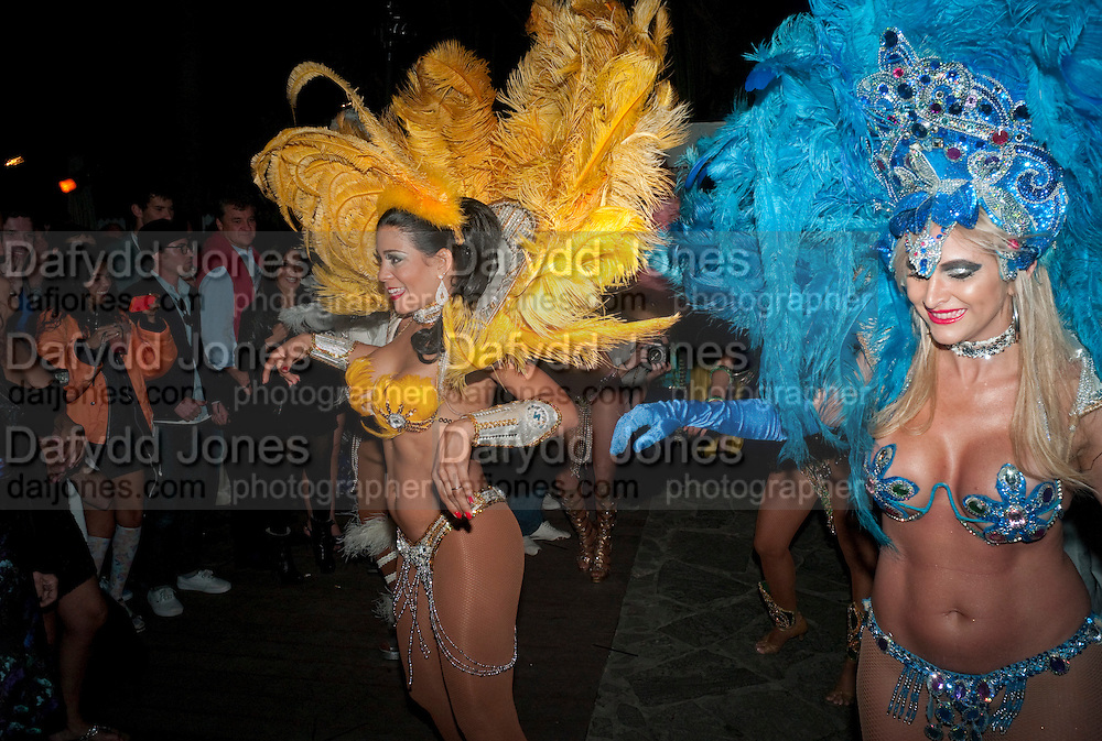 , Visionaire party. Delano  Hotel.  Miami Art Basel 2011. 2 December 2011.
