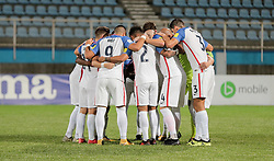 October 10, 2017 - Couva, Caroni County, Trinidad & Tobago - Couva, Trinidad & Tobago - Tuesday Oct. 10, 2017: USMNT Starting eleven during a 2018 FIFA World Cup Qualifier between the men's national teams of the United States (USA) and Trinidad & Tobago (TRI) at Ato Boldon Stadium. (Credit Image: © John Dorton/ISIPhotos via ZUMA Wire)