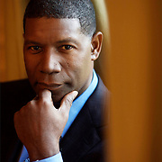 UK. London. Dennis Haysbert, actor who plays Nelson Mandela in a new film soon to be released called GOODBYE BAFANA.photo Mark Chilvers