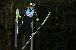 Lara Malsiner of Italy soaring through the air during 1st Round at Day 1 of World Cup Ski Jumping Ladies Ljubno 2019, on February 8, 2019 in Ljubno ob Savinji, Slovenia. Photo by Matic Ritonja / Sportida