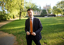 © Licensed to London News Pictures. 13/05/2019. London, UK. Secretary of State for Housing, Communities and Local Governments JAMES BROKENSHIRE is seen in Westminster, London. Talks between member 10 and Labour are set to conclude this week. Photo credit: Ben Cawthra/LNP