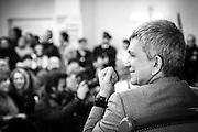 Melfi (PZ) 20.01.2013 - Campagna Elettorale Elezioni Politiche 2013. Il segretario di Sel Nichi Vendola a Melfi per presentare la campagna elettorale del partito per le elezioni politiche 2013. Nella Foto: Nichi Vendola.Foto Giovanni Marino