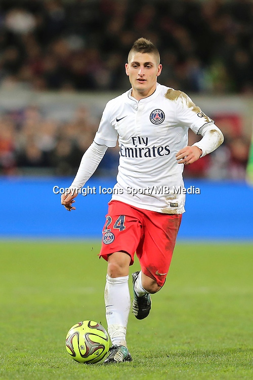 Marco VERRATTI - 14.12.2014 - Guingamp / Paris Saint Germain - 18eme journee de Ligue 1<br />