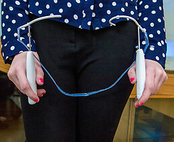 Pictured: The polypropylene transvaginal mesh which is inserted 'blind' <br /> <br /> Thousands of Scottish women have been fitted with polypropylene transvaginal mesh to treat pelvic organ prolapse or stress urinary incontinence. As a result women in every Scottish constituency have been severely injured or permanently disabled following this procedure, some have lost organs, many their careers and their relationships.&nbsp; The women and their families  are asking MSPs to sign a pledge <br /> <br /> Ger Harley | EEm 16 March 2017
