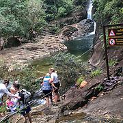 THA/Koh Chang/20180724 - Vakantie Thailand 2018, afdaling naar een waterval