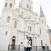 James & Addy Engagement Photography Samples | French Quarter, New Orleans | 1216 Studio Wedding Photography
