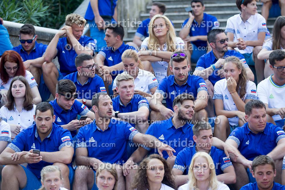at press conference of Slovenian Olympic Committee before XVIII Mediterranean Games in Tarragona 2018, on June 18, 2018 in Portoroz, Slovenia. Photo by Urban Urbanc / Sportida