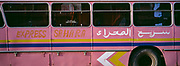 Express Sahara Bus, Morocco, North Africa, May 1999