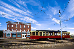 July 21, 2019 - Trolley In Fort Edmonton, Alberta, Canada (Credit Image: © Richard Wear/Design Pics via ZUMA Wire)