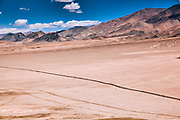 Remote Hanle region of Ladakh, Jammu and Kashmir, India in the Himalayas