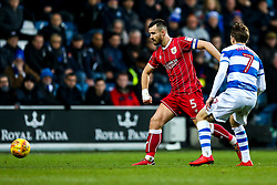 Bailey Wright of Bristol City is challenged by Luke Freeman of Queens Park Rangers - Rogan/JMP - 23/12/2017 - Loftus Road - London, England - Queens Park Rangers v Bristol City - Sky Bet Championship.
