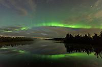 Aurora Borealis in der Nähe von Kuusamo
