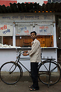 Milk delivery man - Bombay/Mumbai - India